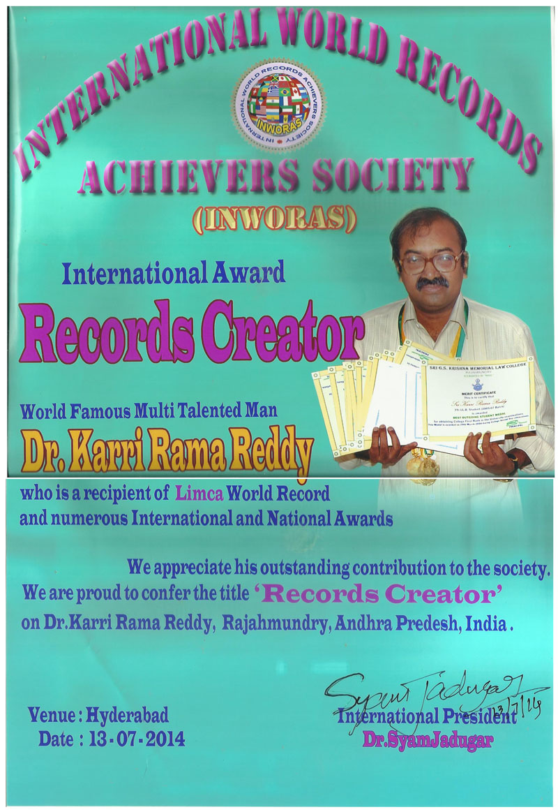 World Records Creator